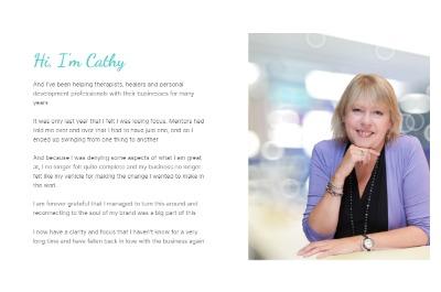 Cathy Bio Section